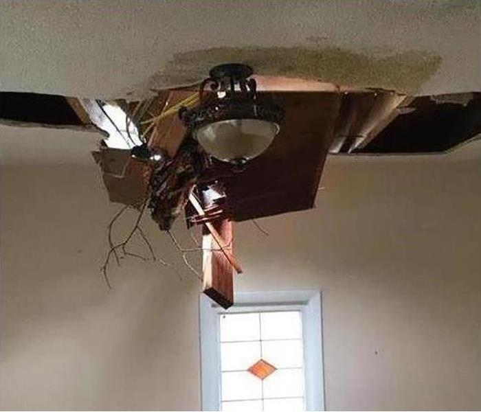 Ceiling Fan Falling Off