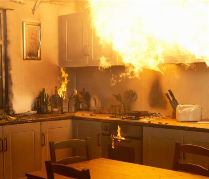Fire Damage Tips for Preventing Kitchen Fires